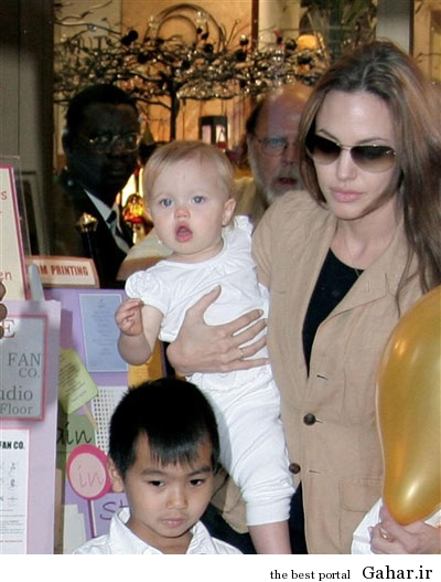 hhe1237 عکس های آنجلینا جولی و فرزندانش