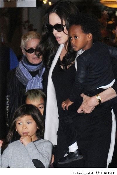 hhe1238 عکس های آنجلینا جولی و فرزندانش