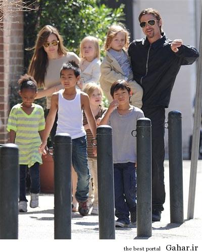hhe1243 عکس های آنجلینا جولی و فرزندانش