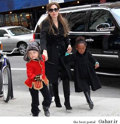 hhe1246 عکس های آنجلینا جولی و فرزندانش