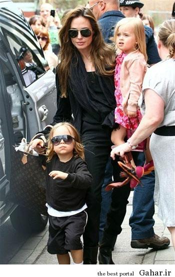 hhe1247 عکس های آنجلینا جولی و فرزندانش