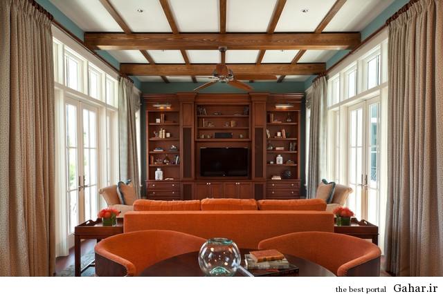 home living room decoration b 24 نمونه های بی نظیر دکوراسیون اتاق پذیرایی