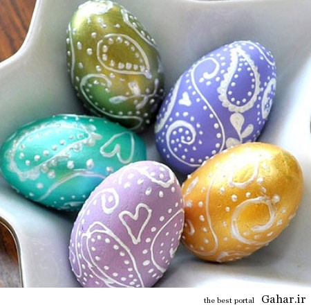 hou6551 تزیین تخم مرغ هفت سین 2 (عید ۹۳)