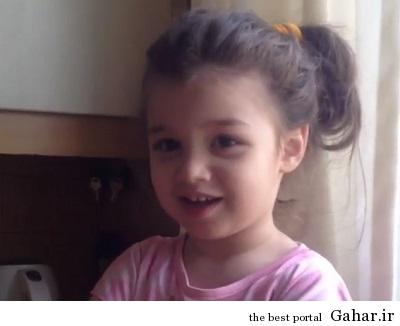 kjnngvv حرف زدن بنیامین بهادری با دختر بامزه اش + فیلم