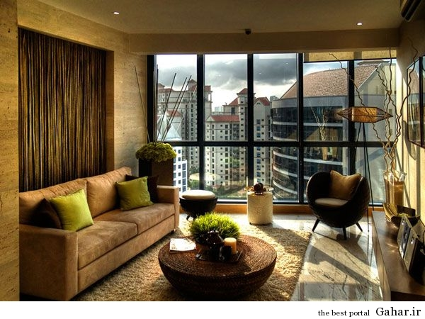 living room design 2 دکوراسیون اتاق نشیمن به سبک اسکاندیناوی