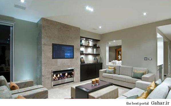 paziraei modern8 مدل های اتاق پذیرایی مدرن و شیک 2014