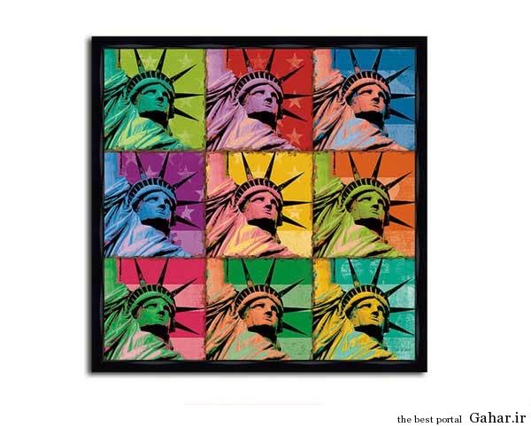 tablo honari Gahar.IR 1 مدل تابلوهای هنری برای دکوراسیون خانه