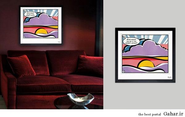 tablo honari Gahar.IR 10 مدل تابلوهای هنری برای دکوراسیون خانه (2)