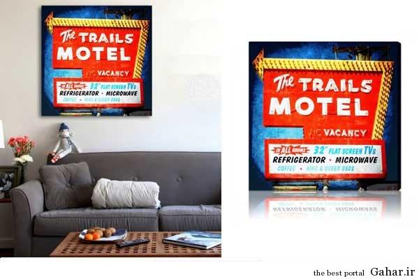 tablo honari Gahar.IR 13 مدل تابلوهای هنری برای دکوراسیون خانه (2)