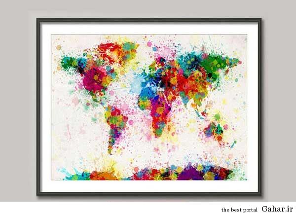 tablo honari Gahar.IR 15 مدل تابلوهای هنری برای دکوراسیون خانه (2)