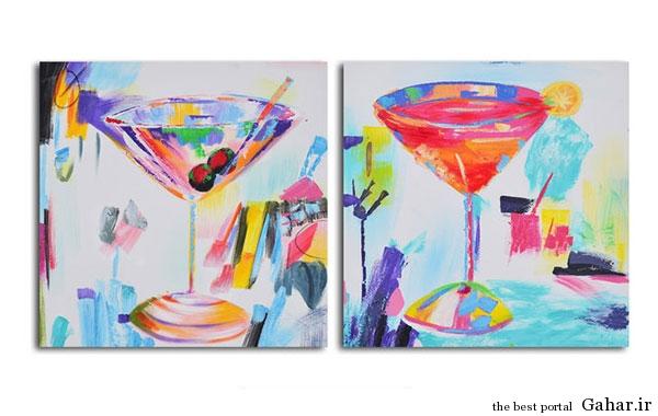 tablo honari Gahar.IR 2 مدل تابلوهای هنری برای دکوراسیون خانه