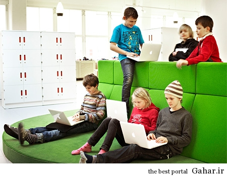 vittraschool02 بهترین کلاس درس دنیا