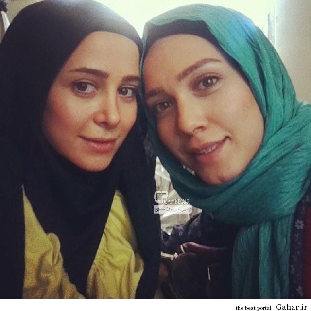 www Campec Ir Elnaz Habibi v Marjaneh Gholchin 2 3 عکس جدید و جالب از الناز حبیبی