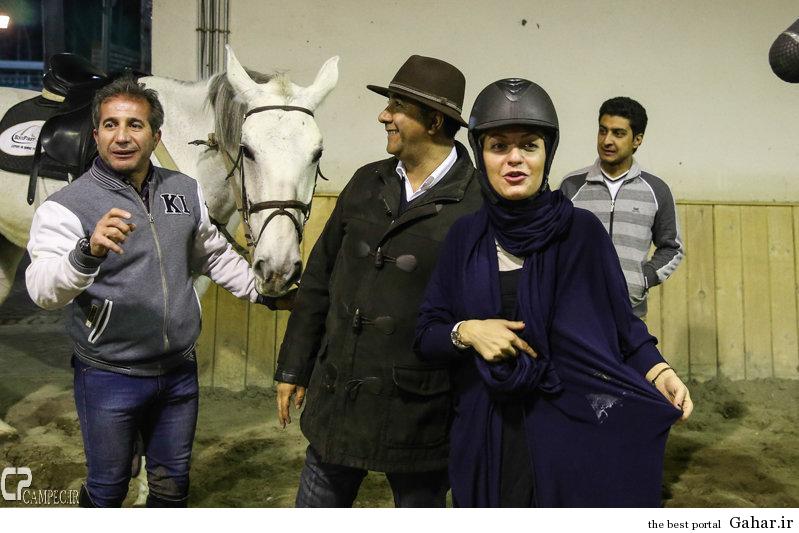 www Campec Ir Mahnaz Afshar 121 اسب سواری مهناز افشار / عکس
