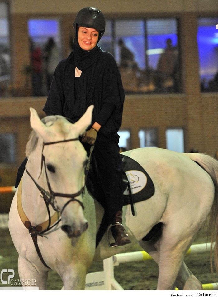 www Campec Ir Mahnaz Afshar 128 اسب سواری مهناز افشار / عکس