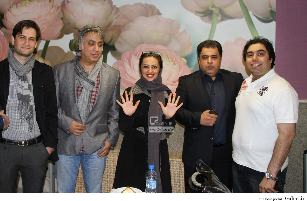 www Campec Ir Nafiseh Roshan 76 عکس های جدید نفیسه روشن و همسرش در جشن خیریه