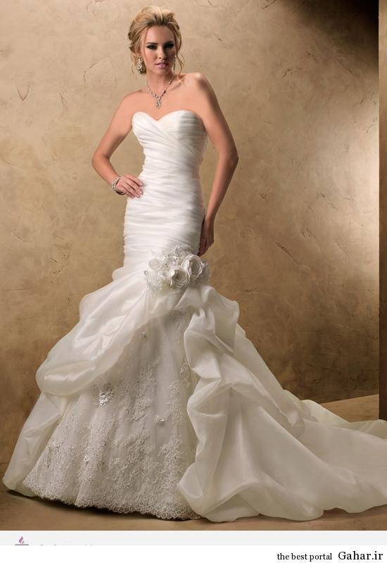 12275 مدل های لباس عروس طراحی شده برند Maggie Sottero