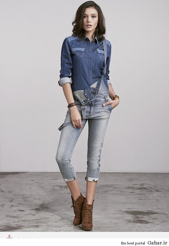 1 11047 مدل لباس های جین و لی زنانه ی برند Wrangler