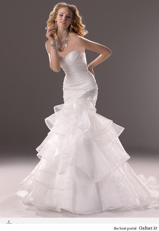 4383 مدل های لباس عروس طراحی شده برند Maggie Sottero