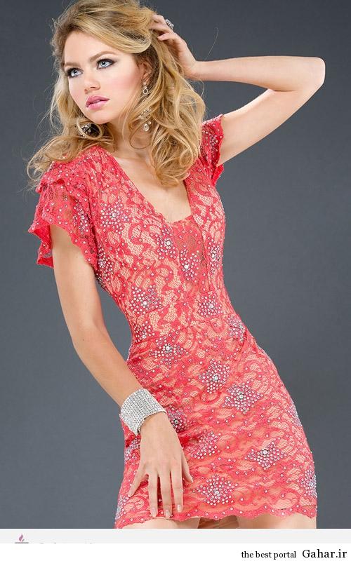 5368 مدل لباس های مجلسی کوتاه زنانه طراحی Jovani