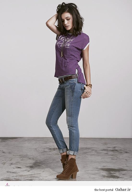 6329 مدل لباس های جین و لی زنانه ی برند Wrangler