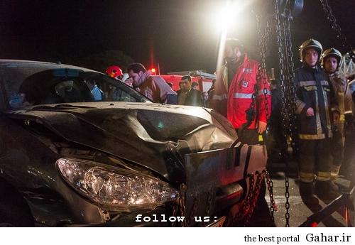 635327394355590611 تصادف طولانی ۱۲ خودرو در میدان توحید تهران / عکس