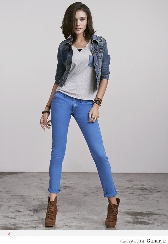 9294 مدل لباس های جین و لی زنانه ی برند Wrangler