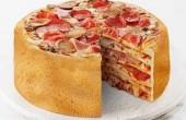 پیتزا ۵ طبقه دیده اید؟ / عکس
