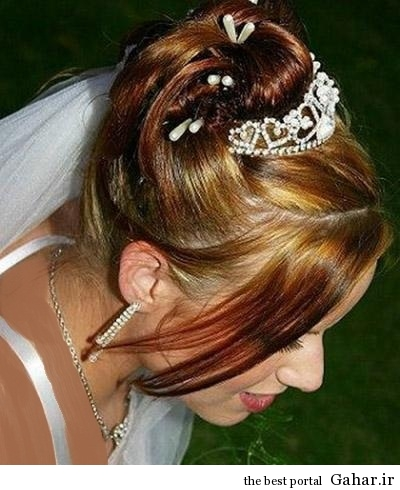 Stylish Bridal Hairstyle 2014 مدل مو عروس 93
