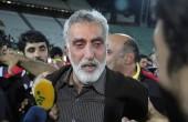 اشک شوق حسین فرکی جلوی دوربین خبرنگاران / عکس