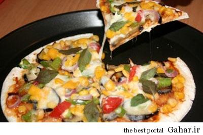 fo2207 طرز تهیه پیتزا بادمجان