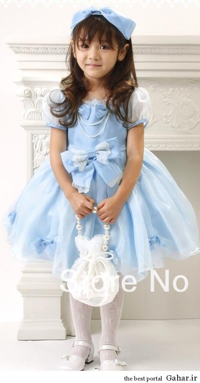 lebas maj bache 2 www.axx2014.ir مدل لباس های مجلسی دختربچه ها 93