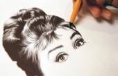 نقاشی های فوق العاده زیبا با خودکار !