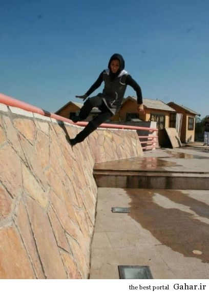 t3wjhyc10gadcafs47jt دختر پارکور کار ایرانی / عکس