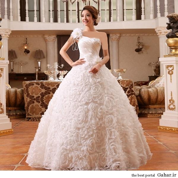 aroos 4 مدل لباس عروس کره ای 93