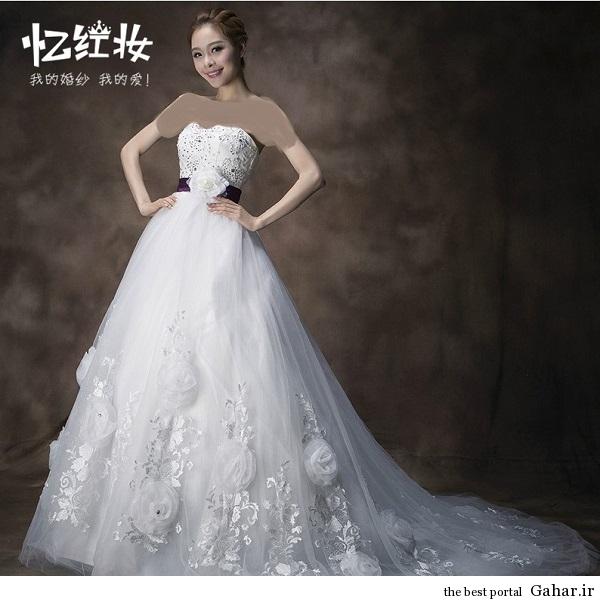 aroos 5 مدل لباس عروس کره ای 93