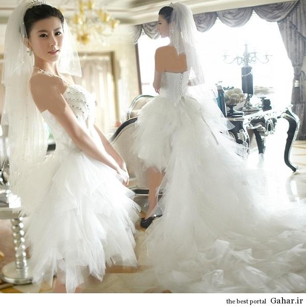 aroos 6 مدل لباس عروس کره ای 93