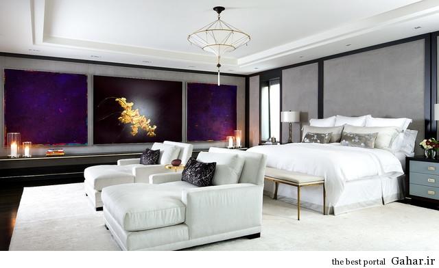 bedroom decoration 19 نمونه های زیبای دکوراسیون اتاق خواب