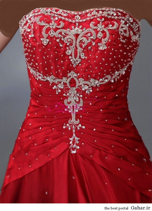 lebas majlesi 1 مدل جدید لباس مجلسی پولک دار 93