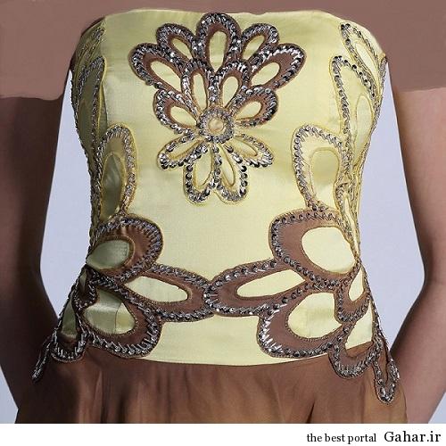 lebas majlesi 2 مدل جدید لباس مجلسی پولک دار 93