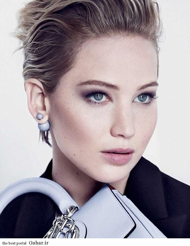 فتوشات های زیبای جنیفر لارنس برای کمپانی Dior