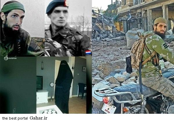 2769027 605 زن هلندی از دست شوهر داعشی اش فرار کرد / عکس