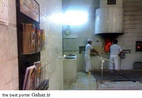 678c6023c8 دستگاه نوبت دهی در یکی از نانوایی های تهران