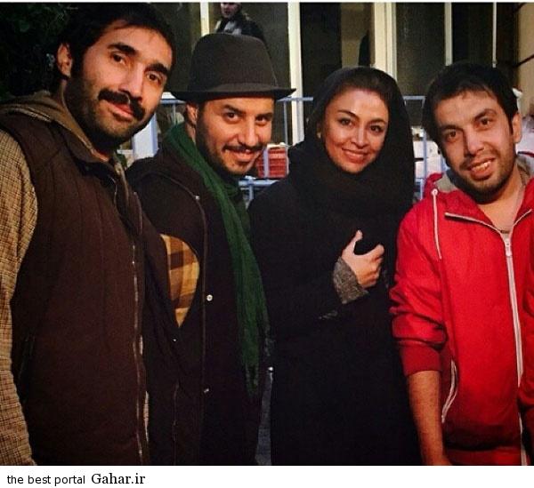 Axe Bazigaran 10 عکس بازیگران ایرانی با همسرانشان در آذر 93