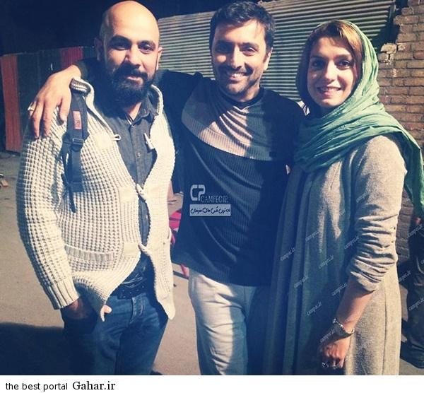 Axe Bazigaran 4 عکس بازیگران ایرانی با همسرانشان در آذر 93