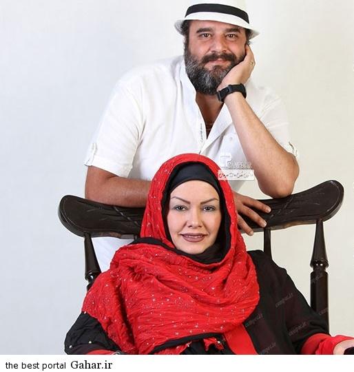 Axe Bazigaran 7 عکس بازیگران ایرانی با همسرانشان در آذر 93