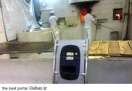 ef9bad9079 دستگاه نوبت دهی در یکی از نانوایی های تهران