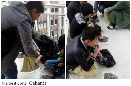 55e694a7e2 تنبیه دانش آموزان به روش خوشمزه توسط معلم چینی !