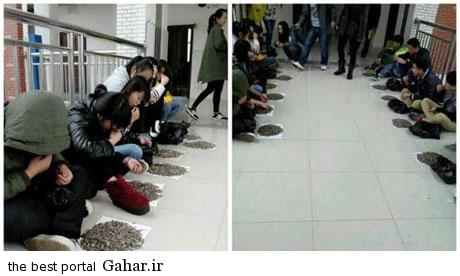 ecc4926c3c تنبیه دانش آموزان به روش خوشمزه توسط معلم چینی !