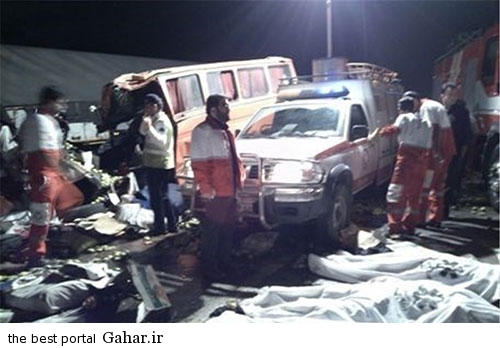 673869 650 عکس / خبر تکمیلی تصادف خونین اتباع افغان در قم